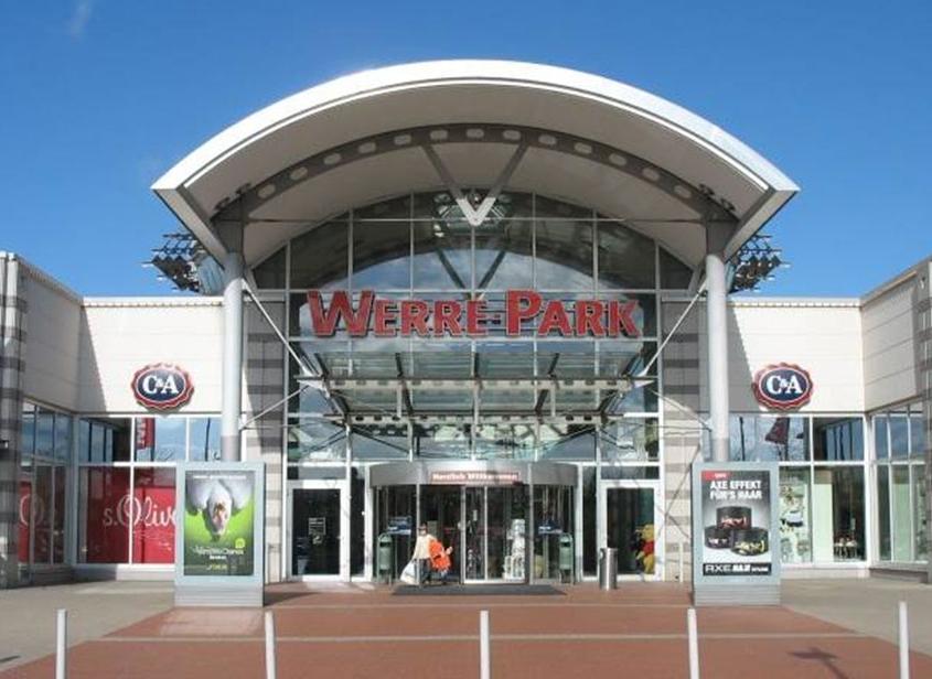 Eingang Werra Park