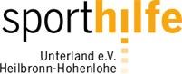 Logo der Sporthilfe Unterland e.V. Heilbronn-Hohenlohe