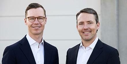 Florian und Dr. Maximilian Lauerbach, die aktuelle Geschäftsführungs und Zukunft der ILG Gruppe