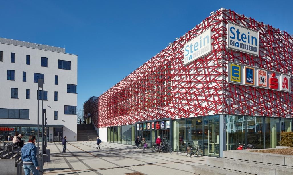 Stein-Center Freising Außenansicht