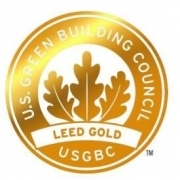Medaille LEED in Gold