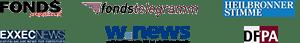 Bekannt aus folgender Fachpresse: fondsprofessionell, fondstelegramm, Heilbronner Stimme, EXXECNews, DFPA, W.News