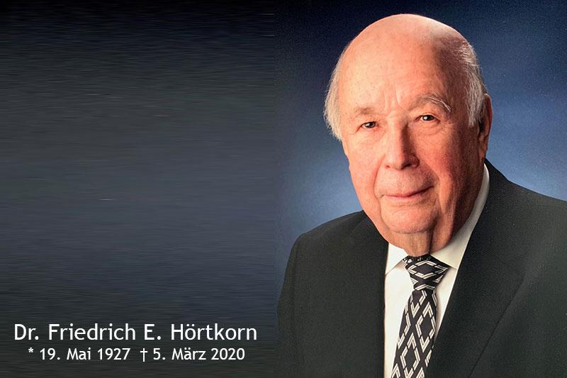 Dr. Friedrich E. Hörtkorn