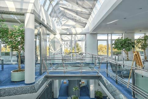 Bürogebäude Innensicht