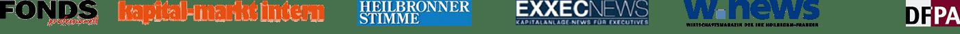 Bekannt aus: FONDSprofessionell, kapital markt intern, Heilbronner Stimme, EXXECNews, Wnews & DFPA