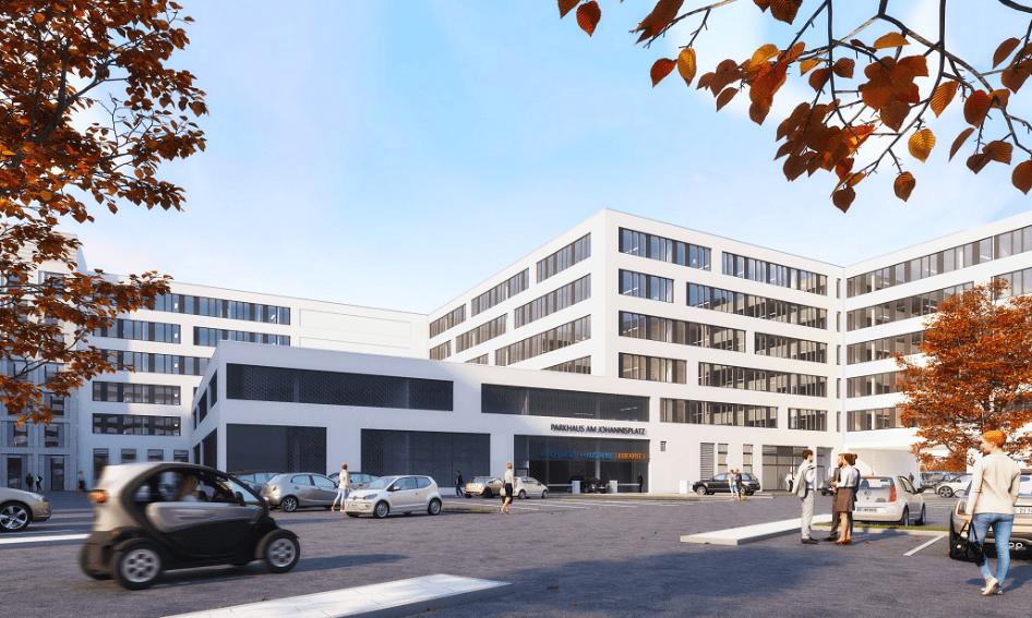 Johannis Quartier - Parkgarage