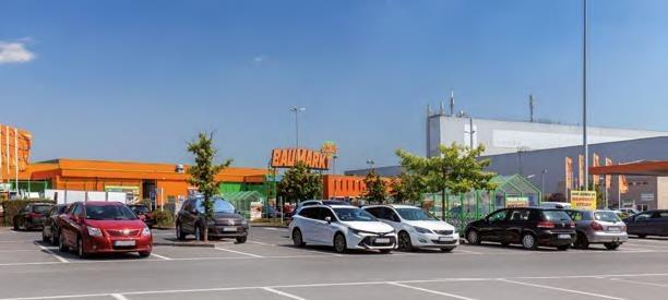 Globus Kitzingen Parkplatz