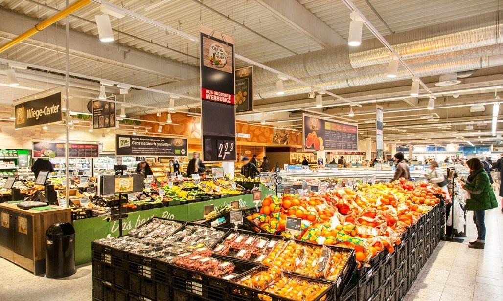 real Markt Langenfeld - Frischebereich, Obst und Gemüse