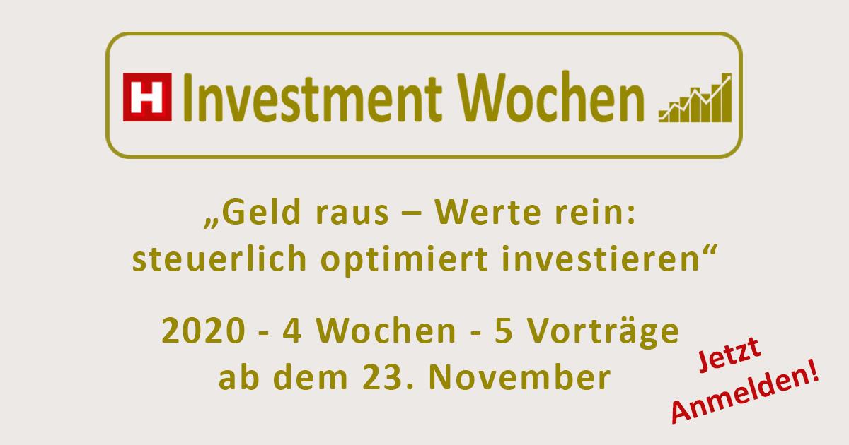 Investmentwochen 2020