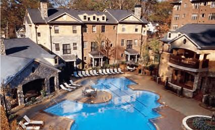 Mietwohnanlage Rock Springs Court in Atlanta, Georgia